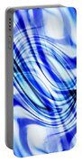 Swirling Abstract Portable Battery Charger