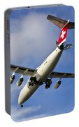 Swiss Air Bae146 Hb-ixw Portable Battery Charger