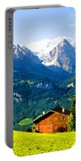 Switzerland Oil On Canvas Portable Battery Charger