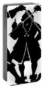 Sword Duel Silhouette  Portable Battery Charger