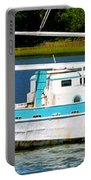Swordfish Boat Pano Portable Battery Charger