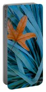 Sycamore Leaf And Sotol Plant Portable Battery Charger