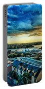Sydney Harbor Sunrise Portable Battery Charger