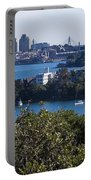 Sydney Harbour Portable Battery Charger by Steven Ralser