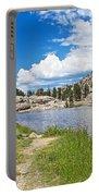 Sylvan Lake Trail In Custer State Park-south Dakota Portable Battery Charger