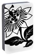 Symbol Passion Flower Portable Battery Charger