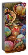 Symbols Of Easter- Spiritual And Secular Portable Battery Charger