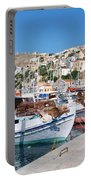 Symi Island Greece Portable Battery Charger