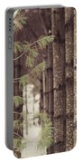 Symmetrical Evergreens  Portable Battery Charger