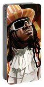 T-pain Artwork Portable Battery Charger