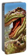 T-rex And Dinosaurs Portable Battery Charger