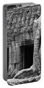 Ta Prohm Roots And Stone 02 Portable Battery Charger