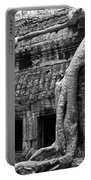 Ta Prohm Roots And Stone 05 Portable Battery Charger