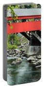 Taftsville Covered Bridge Vermont Portable Battery Charger