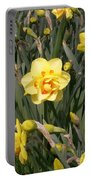 Tahiti Double Daffodil Portable Battery Charger