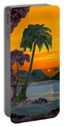 Tahitian Sunset Portable Battery Charger