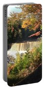Tahquamenon Falls With My Iphone Portable Battery Charger
