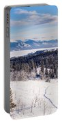 Taiga Snowshoe Trail Landscape Yukon T Canada Portable Battery Charger