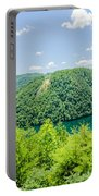 Tail Of The Dragon Scenic Road In Great Smoky Mountains Portable Battery Charger