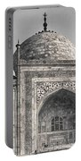 Taj Dressed In White Portable Battery Charger