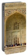 Taj Mahal Close Up Portable Battery Charger