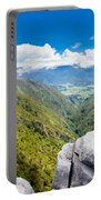 Takaka Hill Limestone Outcrops Takaka Valley In Nz Portable Battery Charger