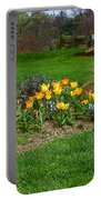Take A Deep Breath Of Springtime Portable Battery Charger