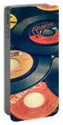 Take Those Old Records Off The Shelf Portable Battery Charger by Edward Fielding