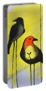 Tall Birds Eat Seeds Portable Battery Charger