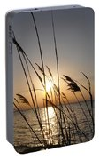 Tall Grass Sunset Portable Battery Charger