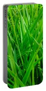 Tall Green Grass Portable Battery Charger
