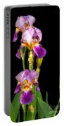 Tall Iris Portable Battery Charger