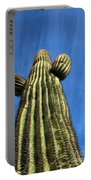 Tall Saguaro Cactus Portable Battery Charger