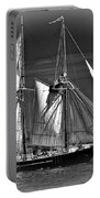 Tall Ship Bw Portable Battery Charger