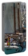 Tall Ship Isla Ebusitania  Portable Battery Charger