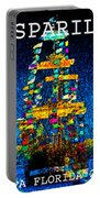 Tall Ship Jose Gasparilla Portable Battery Charger