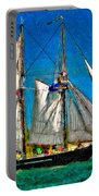 Tall Ship Paint  Portable Battery Charger