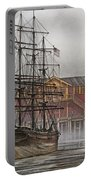 Tall Ship Waterfront Portable Battery Charger