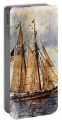 Tall Ships Art Portable Battery Charger
