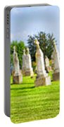 Tall Tombstones Panorama Portable Battery Charger by Thomas Woolworth