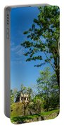 Tall Tree And Temple Portable Battery Charger