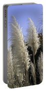 Tall Wispy Pampas Grass Portable Battery Charger