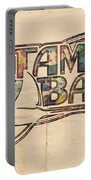 Tampa Bay Rays Poster Art Portable Battery Charger