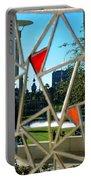 Tampa Seen Through Art Portable Battery Charger