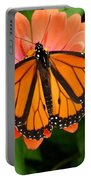 Tangerine Twosome Portable Battery Charger