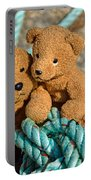 Tangled Up In Blue  Portable Battery Charger