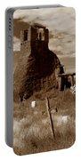 Taos Pueblo Graveyard Portable Battery Charger