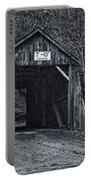 Tappan Covered Bridge Bw Portable Battery Charger