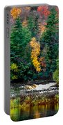 Taquamenon Lower Falls And Observation Deck. Portable Battery Charger