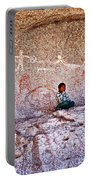 Tarahumara Boy In Painted Cave Near Chihuahua-mexico Portable Battery Charger